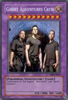Ghost Adventures Crew card by CaliforniaHunt24