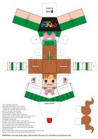 Sailor Jupiter Paper Doll by Willianac