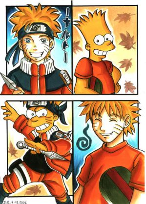 http://th01.deviantart.com/fs12/300W/f/2006/341/4/1/Naruto_Uzumaki_VS_Bart_Simpson_by_Yamatoking.jpg