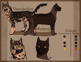 Thunderfoot and Mudstep by PittMixx