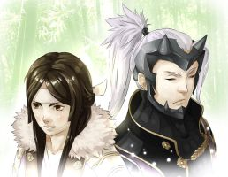 Fire Emblem Awakening - Say'ri and Yen'fay by nin-mario64