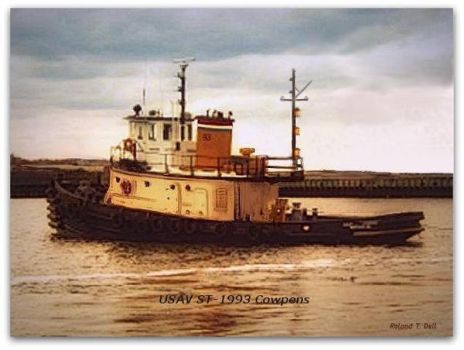 U.S. Army Harbor Tug, Cowpens ST-1993 by Rol-n