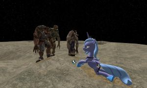 luna is in danger at moon by bantuatha