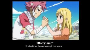 Natsu and Lucy.. (Proposal????) by KouruHimura