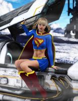 Supergirl Arrival by tiangtam