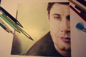 Dean Winchester by ieroslaugh