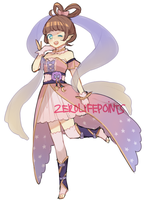 Lunar princess  adopt AUCTION - CLOSED by ZeroLifePoints