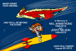 RIP Jerry Nelson and Neil Armstrong by ryuuseipro