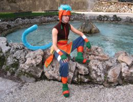 Ranulf cosplay - Lucca Comics and Games 2009 by Skull-the-Kid