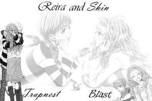 Reira and Shin by tarripin