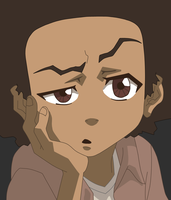 Huey Freeman -- the Boondocks by stillers