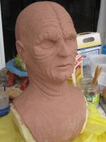 Emperor Palpatine sculpt by Lord-Stark