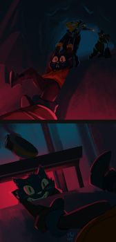 NITW - The Elevator Attack by LynxGriffin