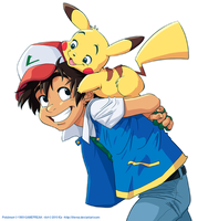 Pika-Back Ride by The-Ez