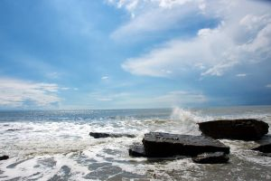 Dunraven Bay 03 Stock by lokinststock