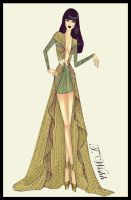 Fashion Design Dress 4. by TwISHH