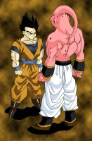 Mystic Gohan Super Buu Colour by YoungTalent93
