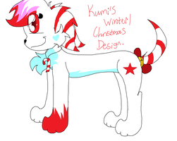 .:Kumi's winter/christmas design:. by Rainbow-cat97