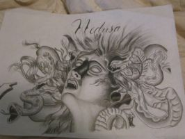 medusa with stretched ears by dieistoday