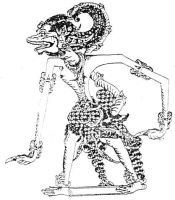 Wayang Anoman by astayoga