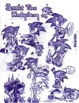 Sonic doodles by ROSE-DUST
