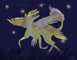 Chasing Fireflies by swift-whippet