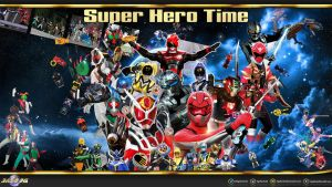 Super Hero Time 2012 Wallpaper by egallardo26