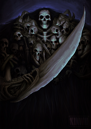 Gravelord Nito by kinwii