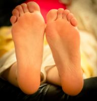 Her soft soles relaxing by 365feet