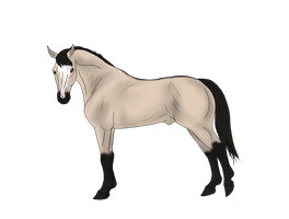Aiohon12 Horse design by ShapeShifter314