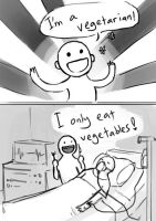 Vegetarian by lydia-the-hobo