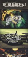 Vintage Labels PSD Retro Badges preview3 by yAniv-k