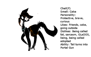 Chell :REF: by Cornygraphy