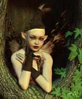 The Perspicacious Faerie by RavenMoonDesigns