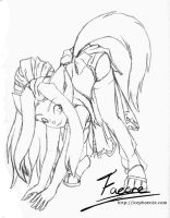 Playful Naoko: Lines v1 by faeore