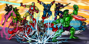 Avengers 2 by cheddarpaladin