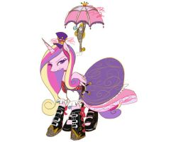 Steam Punk Cadence by bunnimation