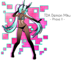 TDA Demon Miku -Phase II- DL by Xoriu