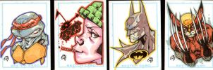ACS Sketch Cards by stalk
