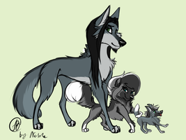 Vendetta's family by MittensTheNoble