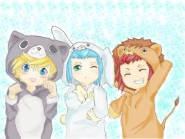 Kawaii Ventus, Isa and Lea :3 by oOKira97Oo