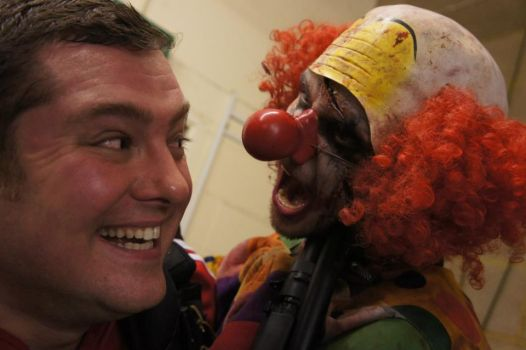 Zed Events- Carl and Bobo the Zombie Clown by Wasjig