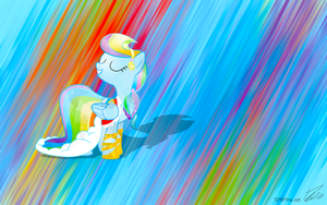 Crystal Rainbow Dash by SPltFYre