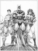 Jim Lee unused Icons cover by INKIST