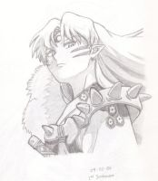 Sesshomaru by cdabroom