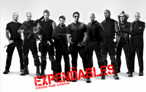 The Expendables weapon by rehsup