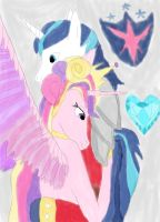 makeCadense and shining armor by daylover1313