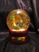 Real Gold Snow Globe by Avi-the-Avenger