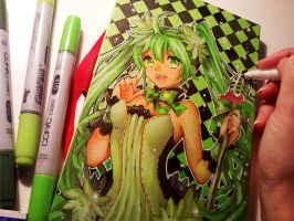 Miku Convention Book Design by Naschi