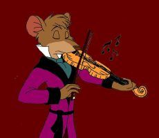 Basil's Violin by ALS123